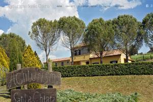 Agriturismo Santa Chiara sito web