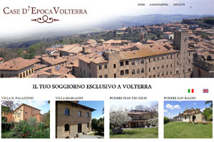 Case d'Epoca Volterra sito web