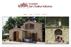 Casolare Ser Chelino Volterra sito web