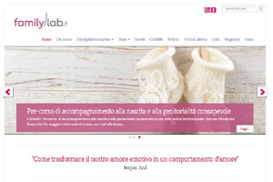 Family Lab Italy sito web