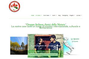 Gruppo Italiano Amici della Natura sito web