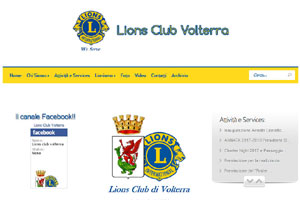 Lions Club Volterra sito web