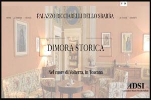Palazzo Ricciarelli-Dello Sbarba sito web
