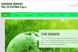 Servizi Val di Cecina sito web