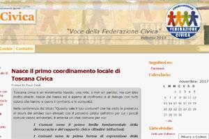 Toscana Civica sito web